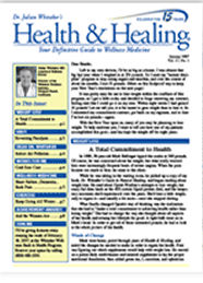 Health and Healing Newsletter