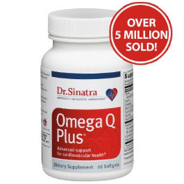 Omega Q Plus - Omega-3 EFAs and highly bioavailable CoQ10
